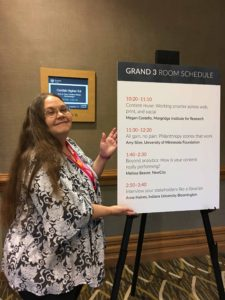 Anne Haines at Confab Higher Ed 2017